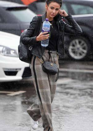 Michelle Keegan - Heading to the gym in Manchester