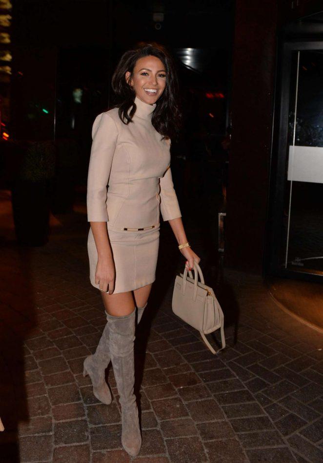 Michelle Keegan In Short Dress 02 Gotceleb