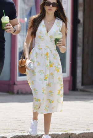 Michelle Keegan - In summer dress at Fred in Essex