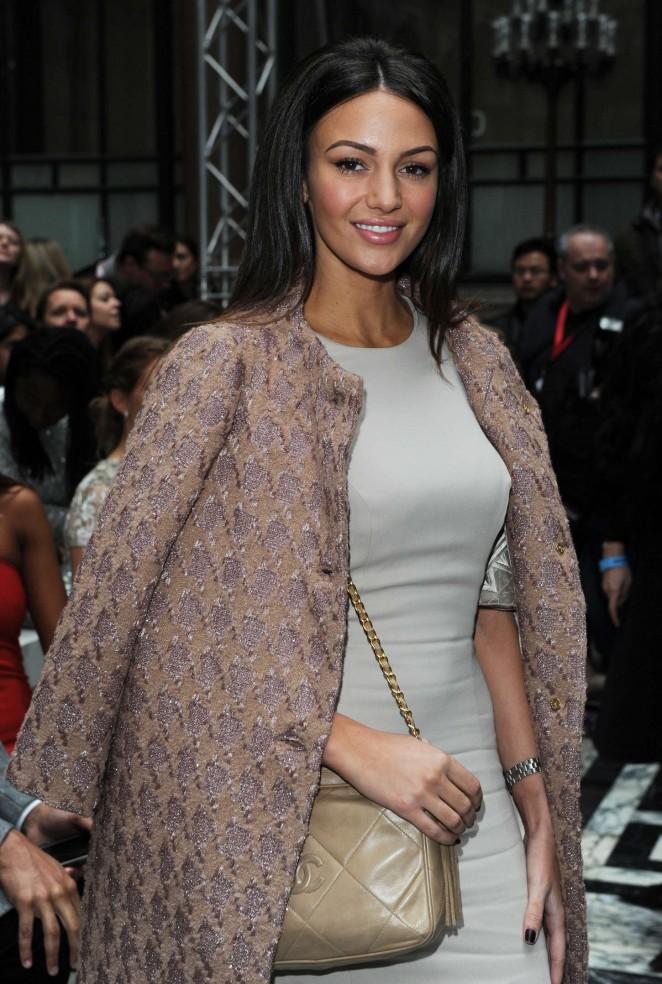 Michelle Keegan: Julien Macdonald Fashion Show 2015 -02