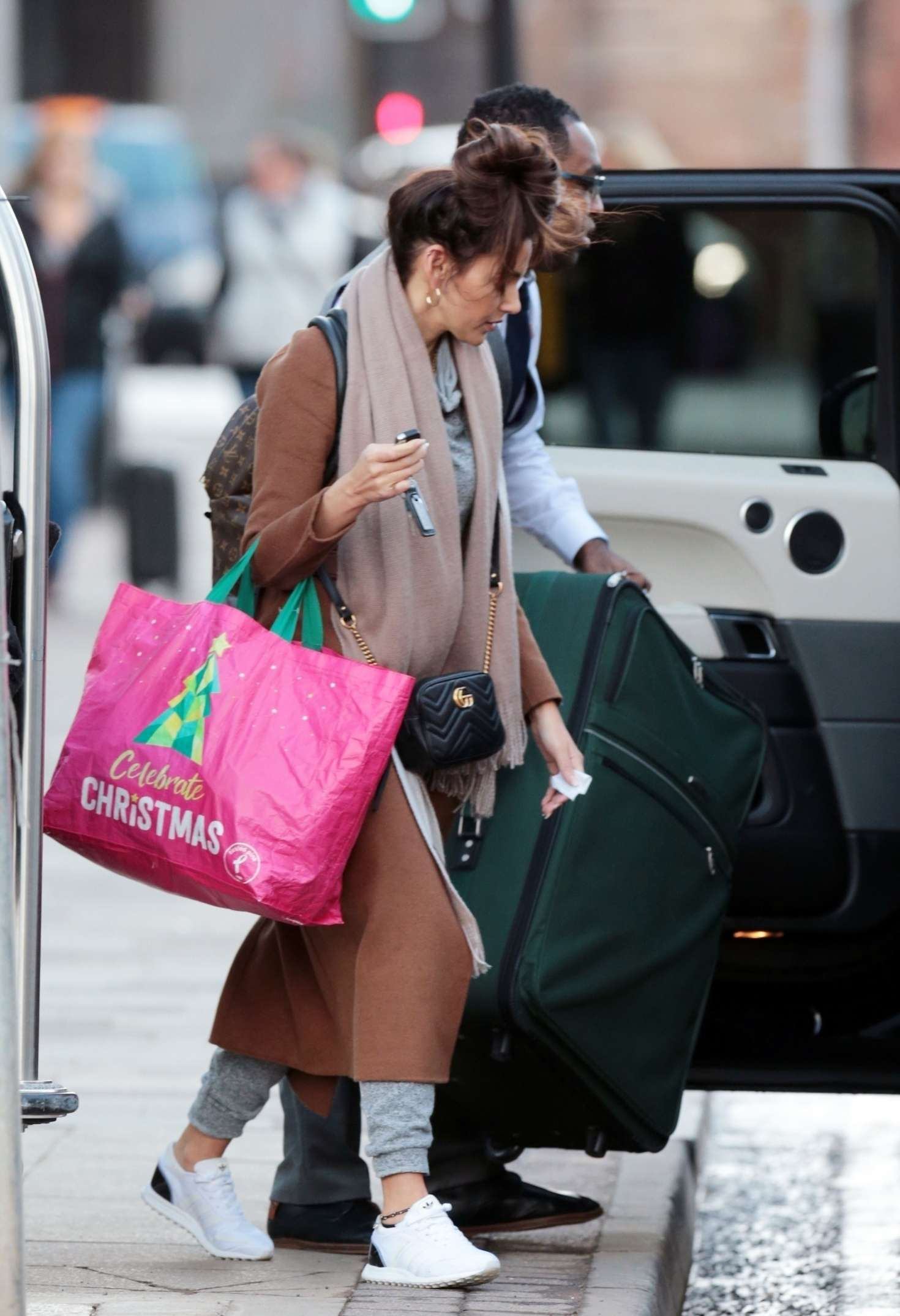 Michelle Keegan 2018 : Michelle Keegan: Leaves her Hotel in Manchester -05
