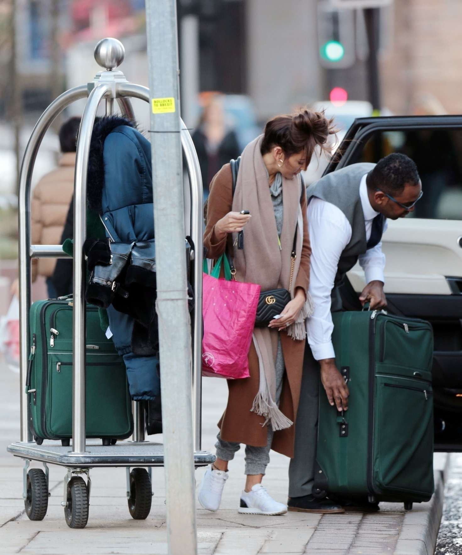 Michelle Keegan 2018 : Michelle Keegan: Leaves her Hotel in Manchester -06
