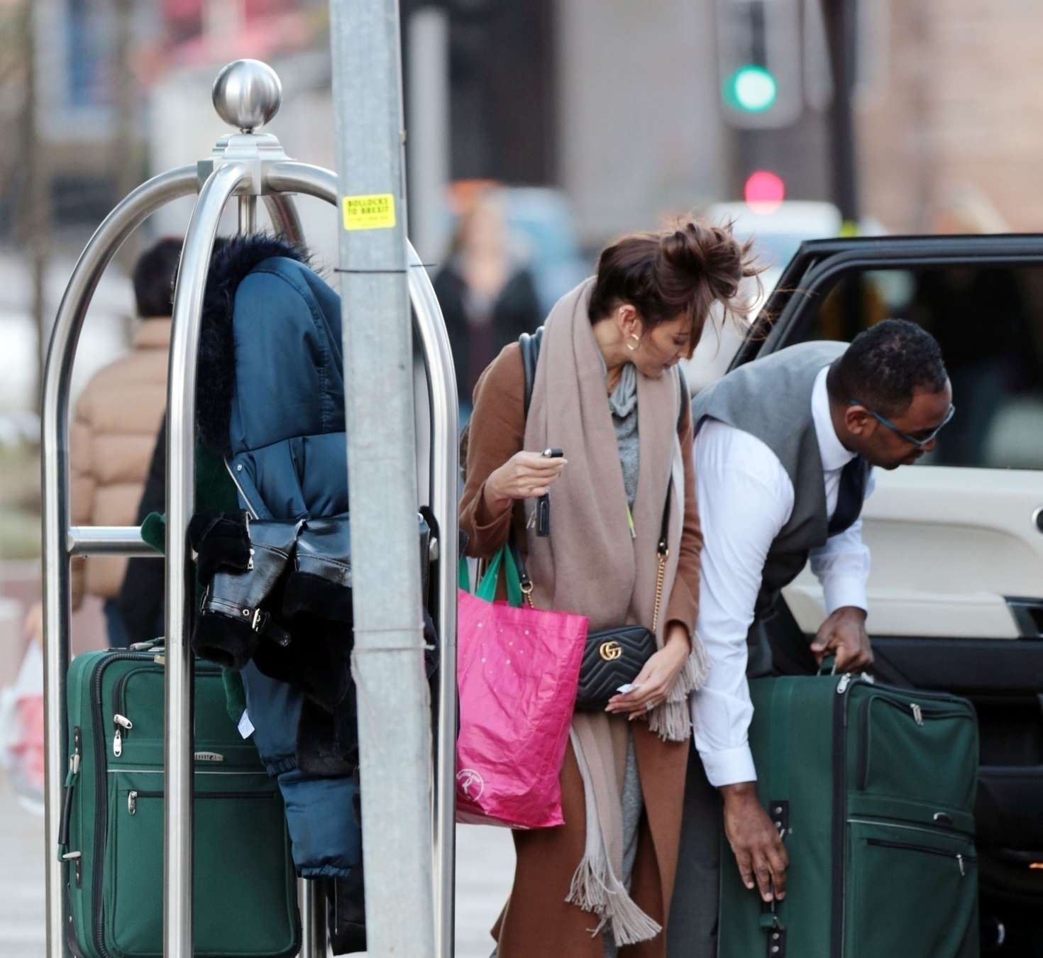 Michelle Keegan 2018 : Michelle Keegan: Leaves her Hotel in Manchester -09
