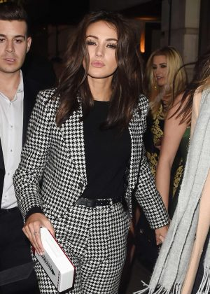 Michelle Keegan - Leaves Toyroom nightclub in London