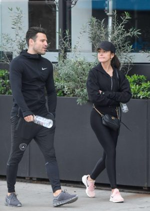 Michelle Keegan – Leaving Joans on third in LA