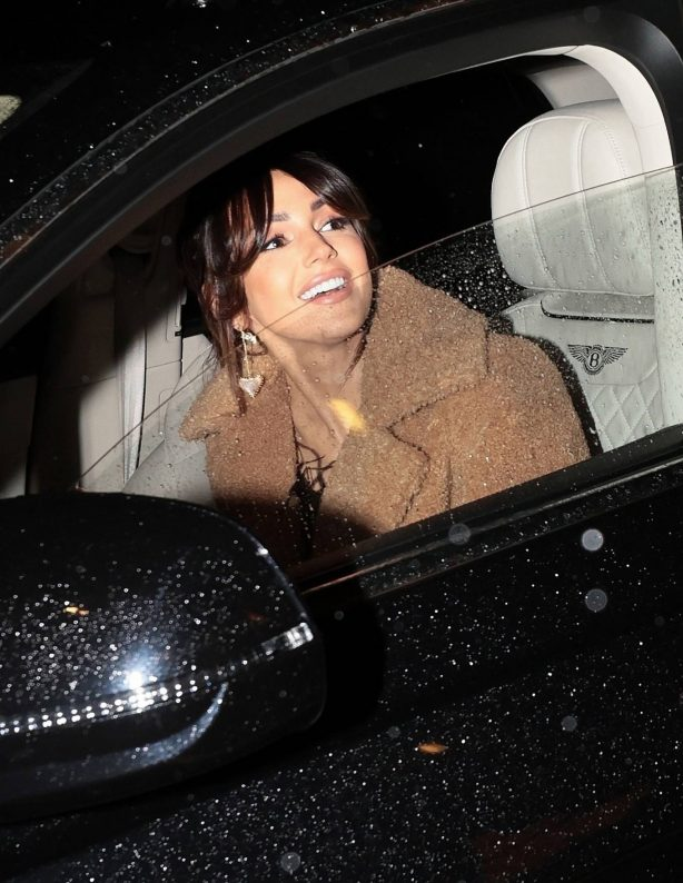 Michelle Keegan - Leaving The Corinthia Hotel in London