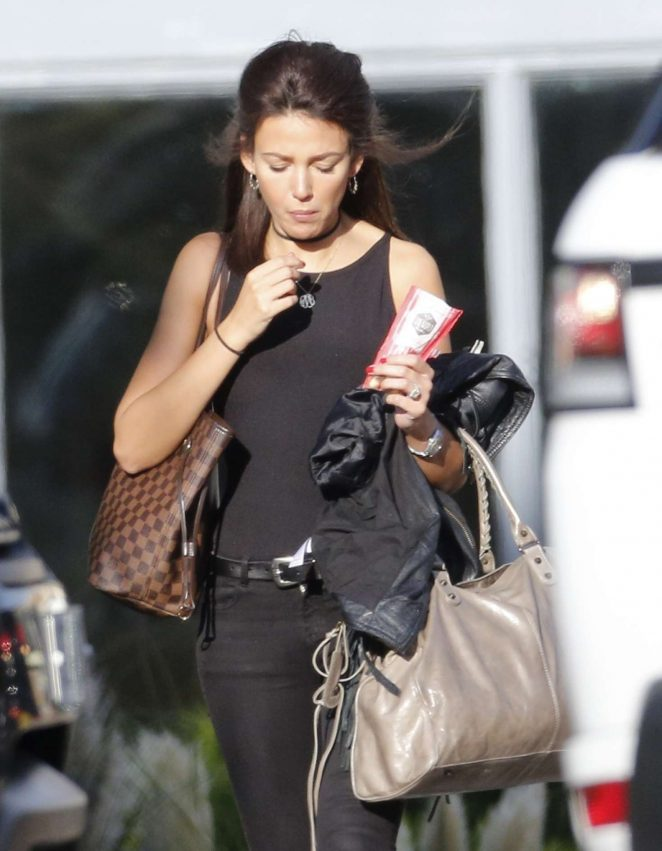 Michelle Keegan Leaving The Gym in Essex