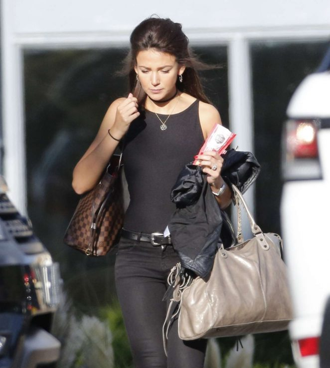 Michelle Keegan Leaving The Gym -06
