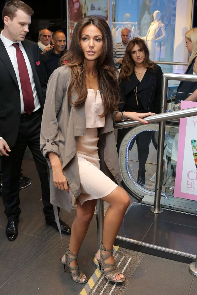 Michelle Keegan - Lipsy Launch at House of Fraser Oxford Street