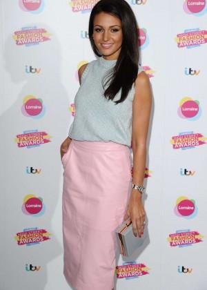 Michelle Keegan - Lorraine's High Street Fashion Awards 2015 in London