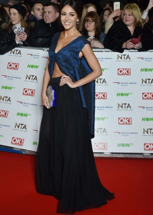 Michelle Keegan - National Television Awards 2016 in London