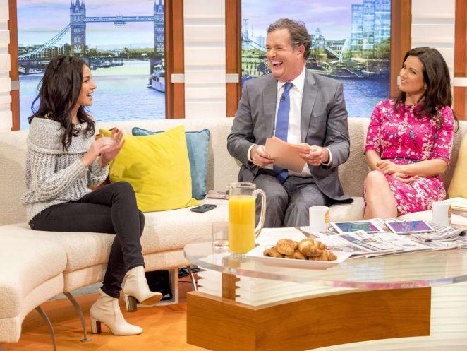 Michelle Keegan on Good Morning Britain TV Show -05