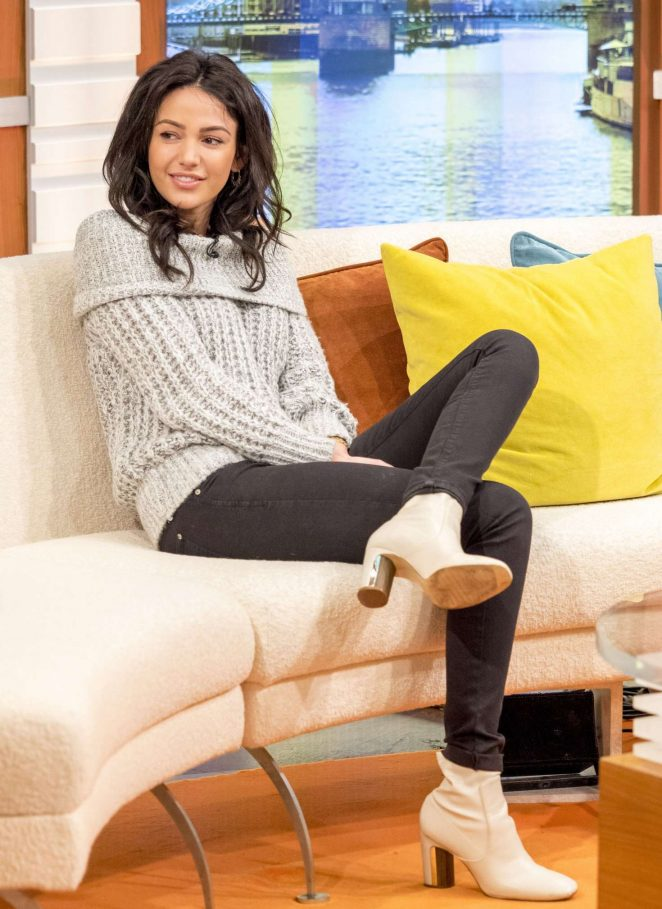 Michelle Keegan on Good Morning Britain TV Show -07