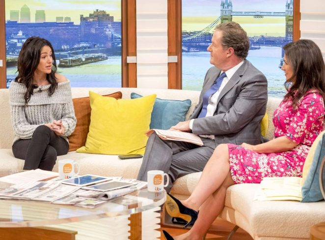 Michelle Keegan on Good Morning Britain TV Show -10