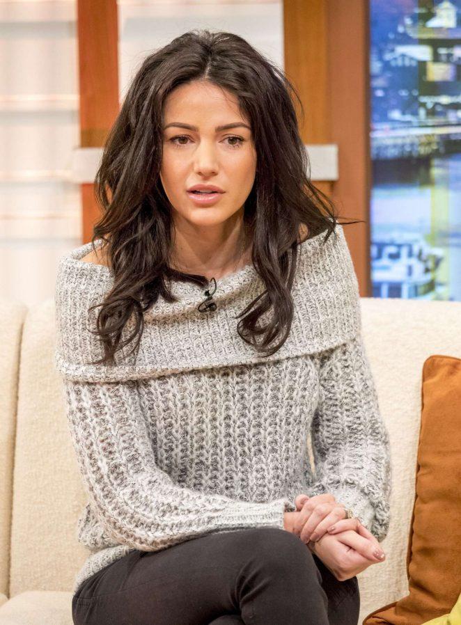 Michelle Keegan on Good Morning Britain TV Show -11