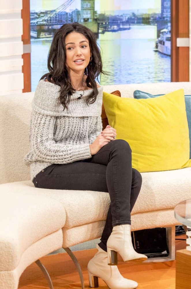Michelle Keegan on Good Morning Britain TV Show -12