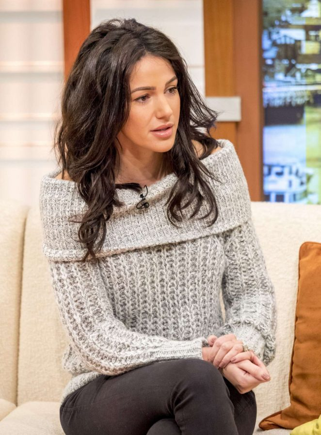 Michelle Keegan on Good Morning Britain TV Show -13