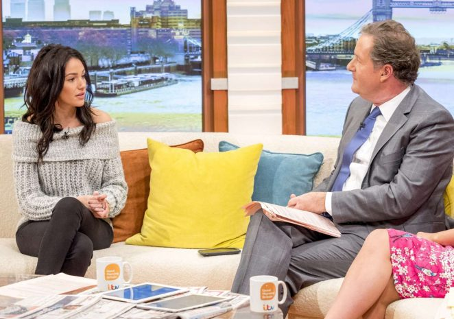 Michelle Keegan on Good Morning Britain TV Show -20