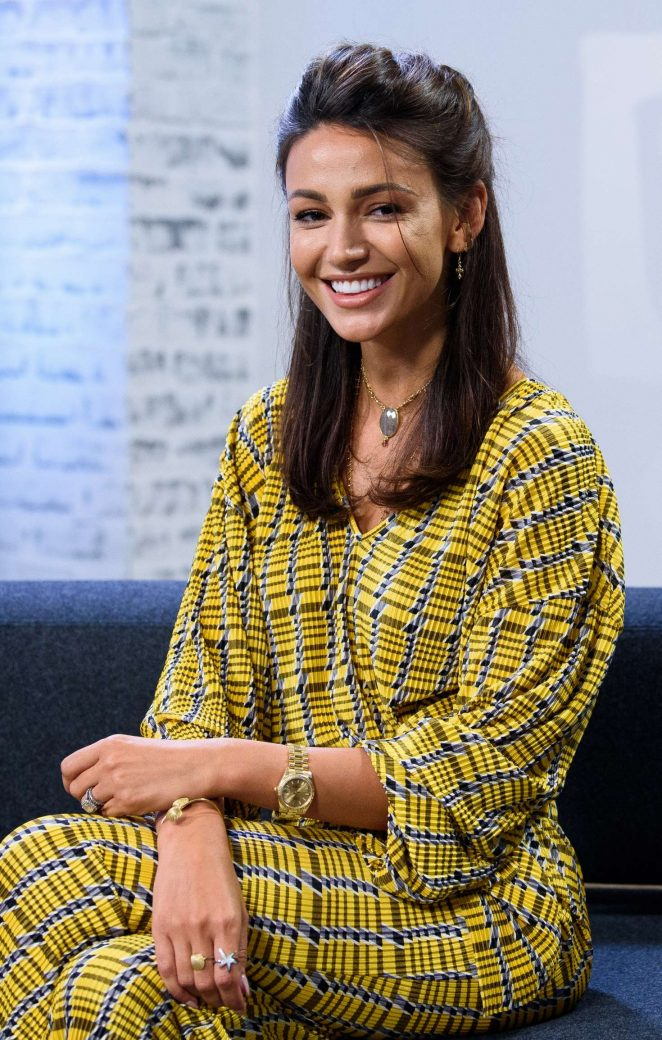 Michelle Keegan - 'Our Girl' BUILD Panel Discussion in London
