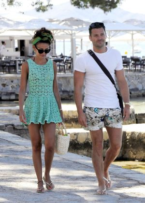 Michelle Keegan - Out and about in Majorca