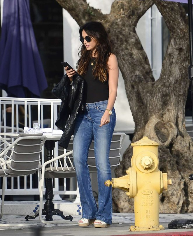 Michelle Keegan out for a lunch in Los Angeles