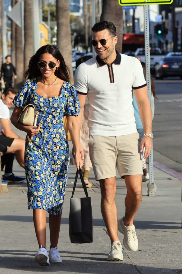 Michelle Keegan - Out in Los Angeles