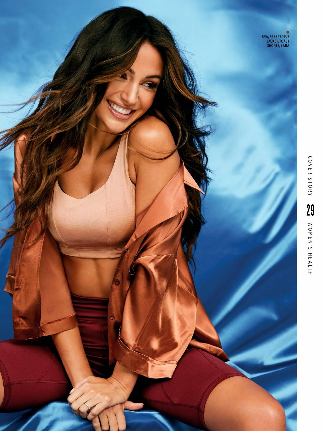 Michelle Keegan - Women's Health Magazine UK (Feb 2021)
