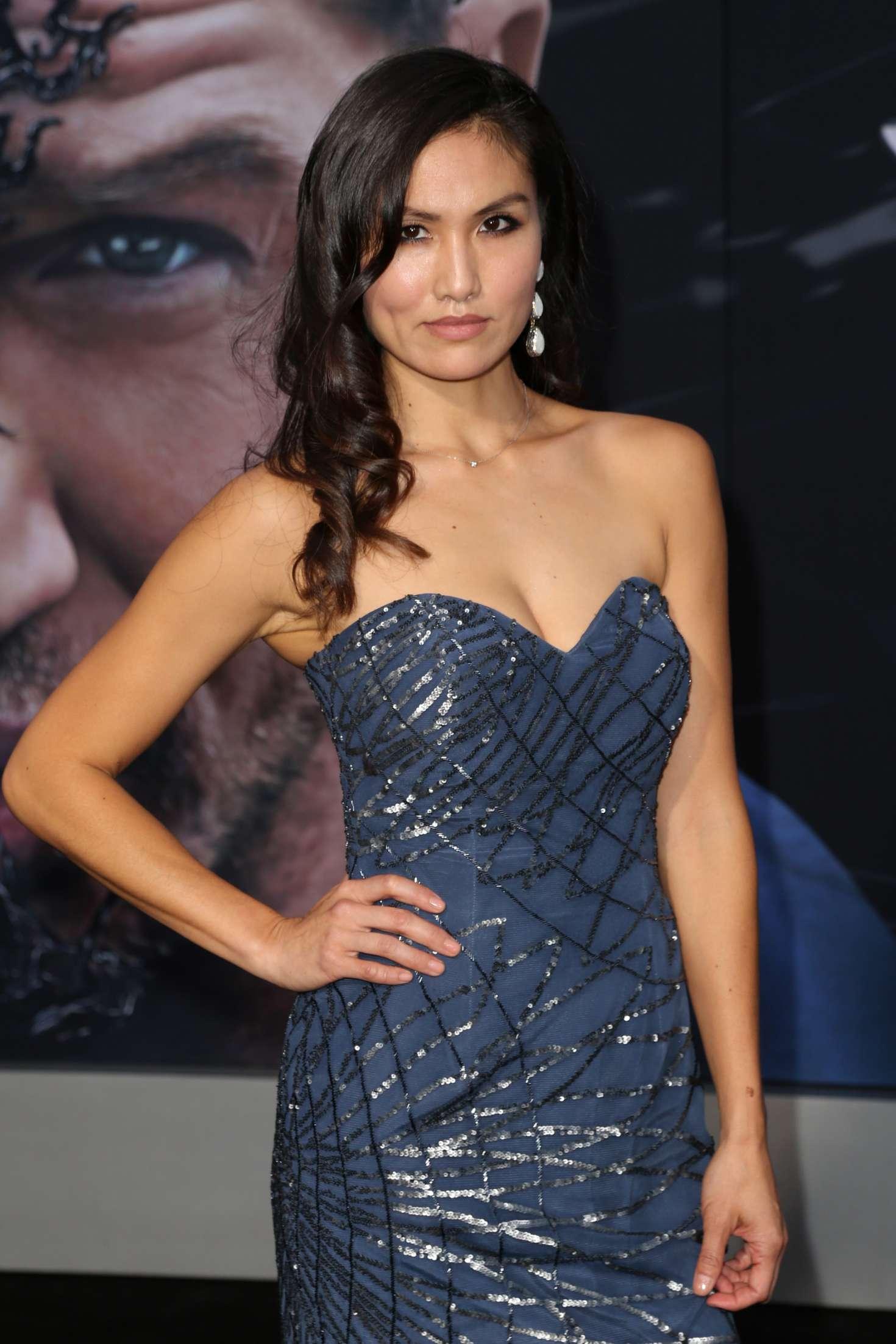 Michelle Lee – 'Venom' Premiere in Los Angeles – GotCeleb