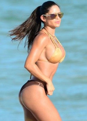 Michelle Lewin Hot in Bikini in Miami