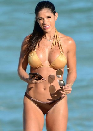 Michelle Lewin Hot in Bikini -08
