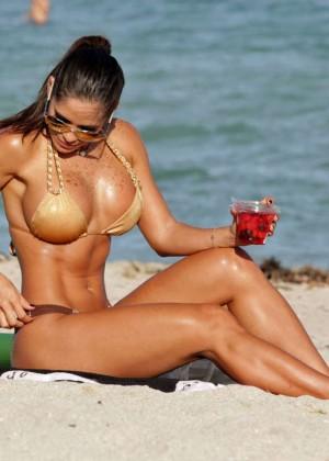 Michelle Lewin Hot in Bikini -09