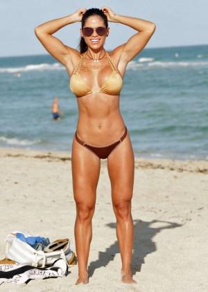 Michelle Lewin Hot in Bikini -10