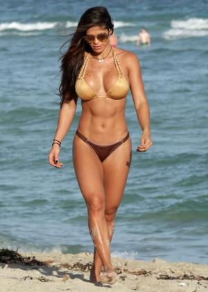 Michelle Lewin Hot in Bikini -12