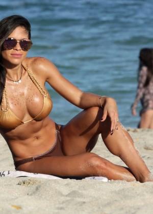 Michelle Lewin Hot in Bikini -20