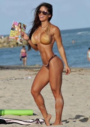 Michelle Lewin Hot in Bikini -25