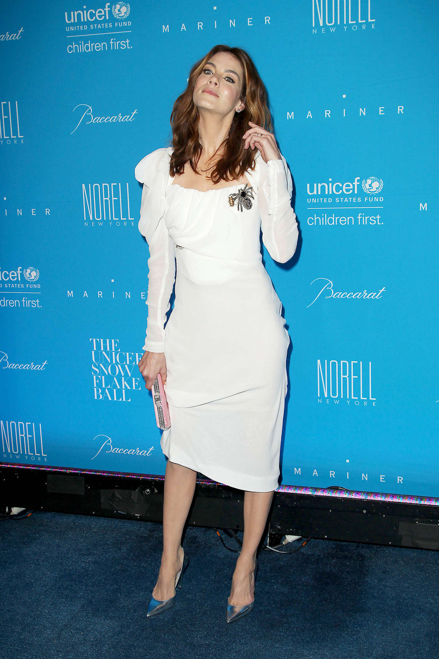 Michelle Monaghan: 2015 UNICEF Snowflake Ball At Cipriani