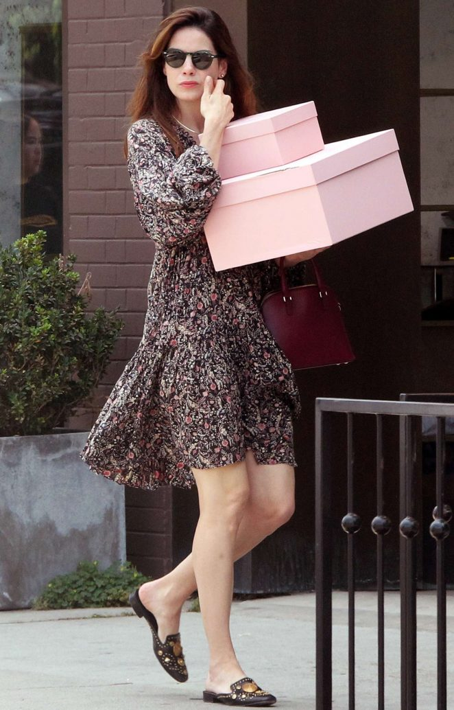 Michelle Monaghan in Summer Dress – Out in West Hollywood