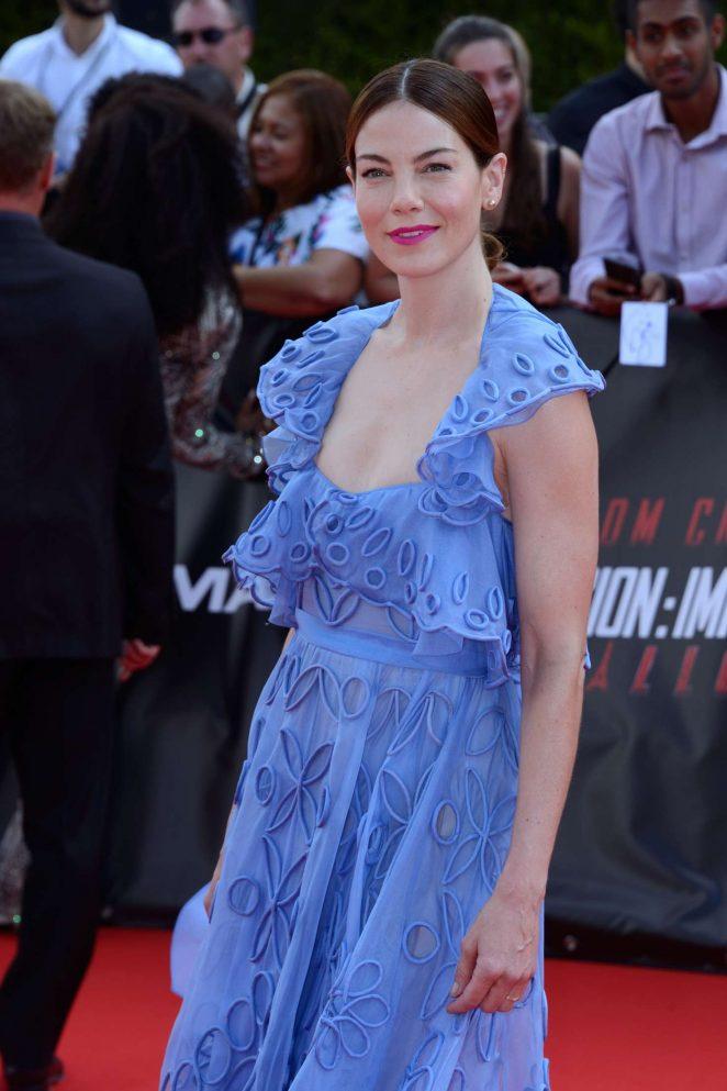 Michelle Monaghan - 'Mission: Impossible - Fallout' Premiere in Paris