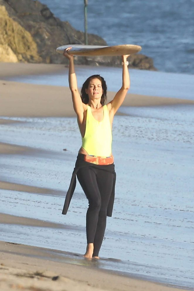 Michelle Monaghan on photoshoot at the beach -03