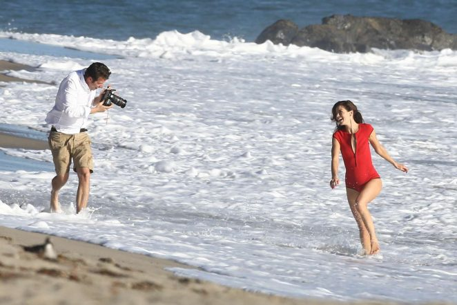 Michelle Monaghan on photoshoot at the beach -05