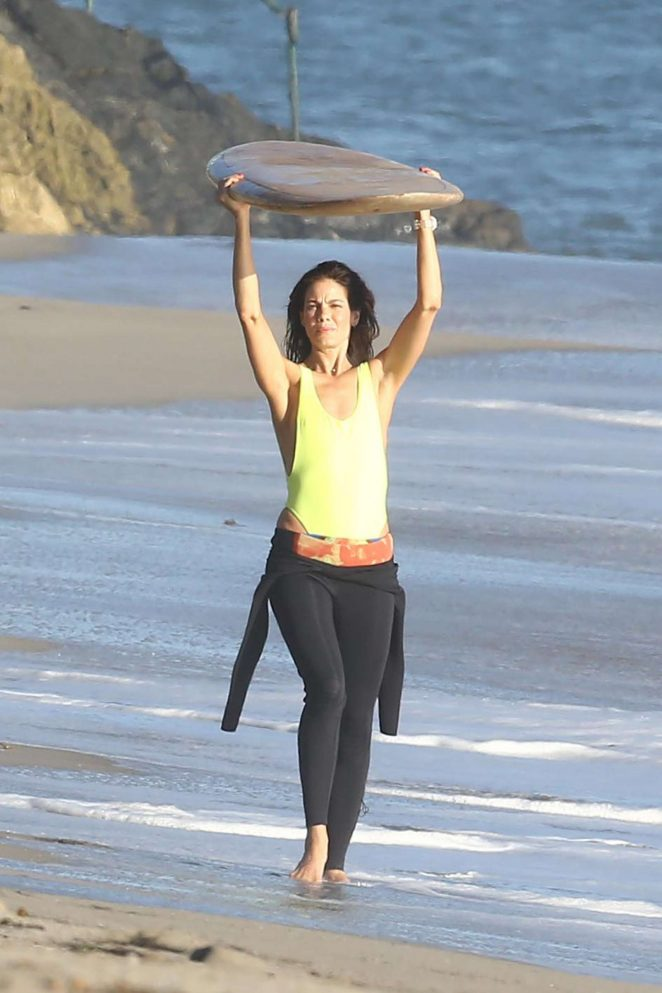 Michelle Monaghan on photoshoot at the beach -08