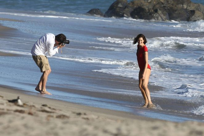 Michelle Monaghan on photoshoot at the beach -26