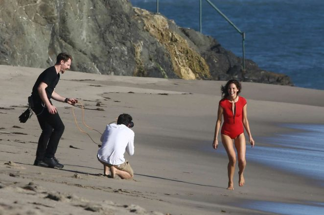 Michelle Monaghan on photoshoot at the beach -33