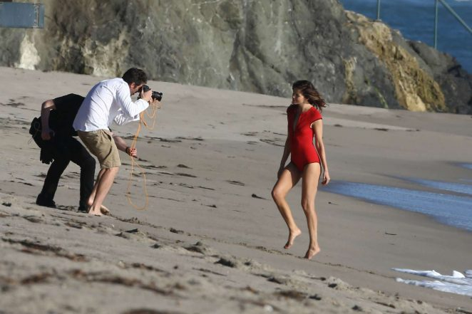 Michelle Monaghan on photoshoot at the beach -35