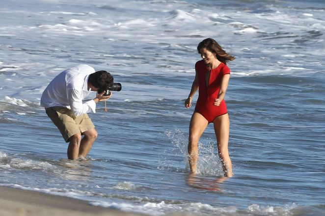 Michelle Monaghan on photoshoot at the beach -43