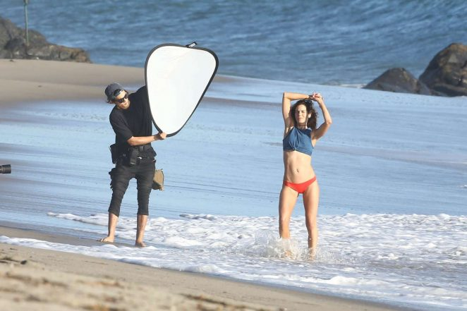 Michelle Monaghan on photoshoot at the beach -48