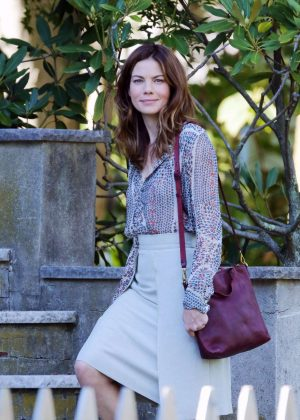 Michelle Monaghan On Set Of The 'Path' in LA