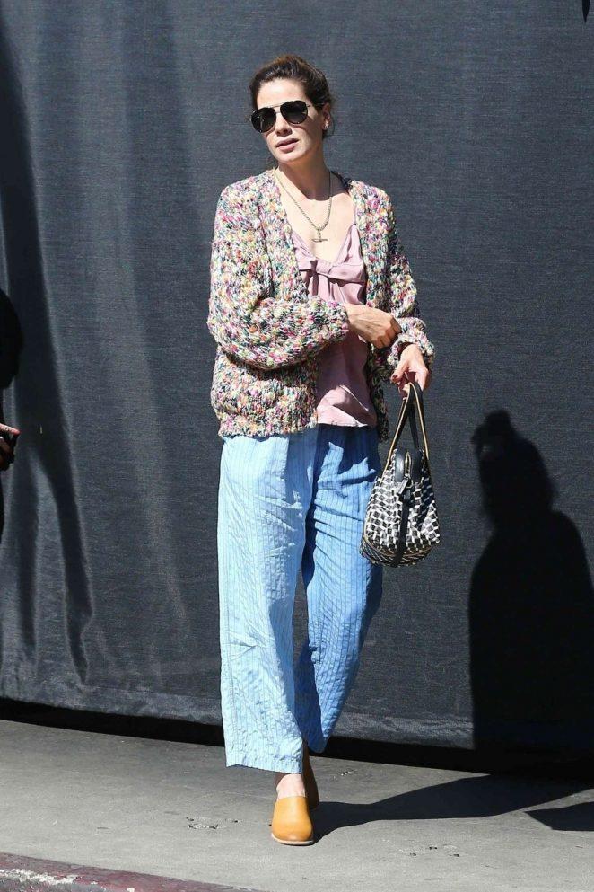 Michelle Monaghan – Oout in Los Feliz