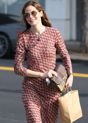 Michelle Monaghan out shopping in Beverly Hills