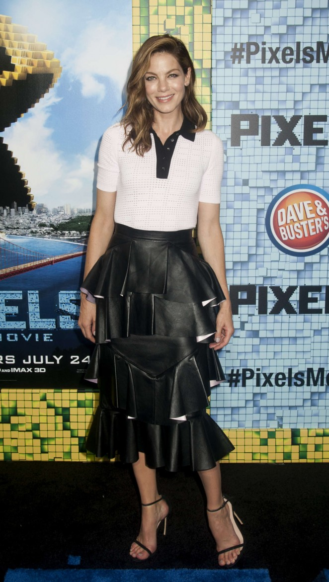 Michelle Monaghan - 'Pixels' Premiere in NYC